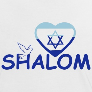 Shalom - Peace for Israel - Women's Ringer T-Shirt