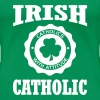 IRISH CATHOLIC - Women's Premium T-Shirt