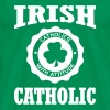 IRISH CATHOLIC - Men's Premium T-Shirt
