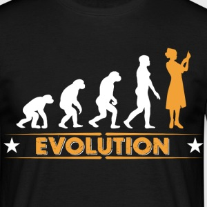 Krankenschwester - MFA - Evolution T-Shirts - Men's T-Shirt