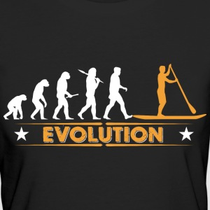 SUP - Stand up paddle - Evolution Tee shirts - T-shirt Bio Femme