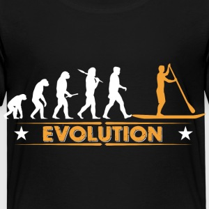 SUP - Stand up paddle - Evolution Shirts - Kids' Premium T-Shirt