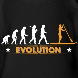 SUP - Stand up paddle - Evolution Baby Bodys - Baby Bio-Kurzarm-Body