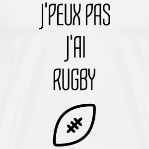 Rugby Rugbyman Ballon Ovale Sport Sportif Camisetas - Camiseta premium hombre