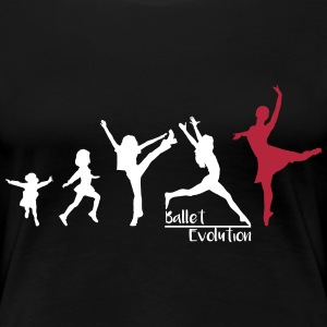 Ballet Evolution - Frauen Premium T-Shirt