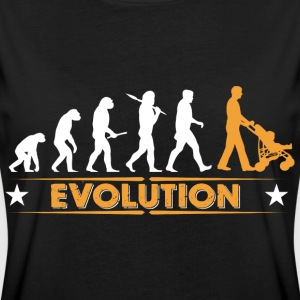 Walking Dad - Evolution Camisetas - Camiseta holgada de mujer