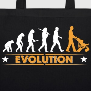 Walking Dad - Evolution Bags & Backpacks - EarthPositive Tote Bag