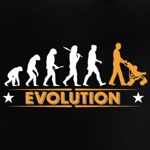 Walking Dad - Evolution Baby T-Shirts - Baby T-Shirt