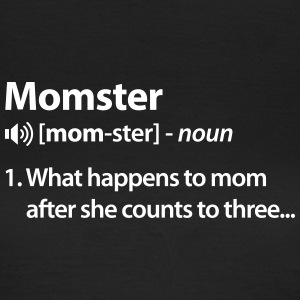Momster T-shirts - Dame-T-shirt