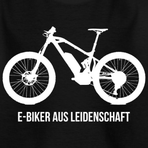 E-BIKER AUS LEIDENSCHAFT T-Shirts - Teenager T-Shirt