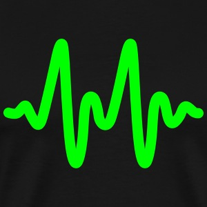 heart rate T-Shirts - Men's Premium T-Shirt