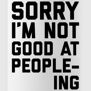 Not Good At People-ing Funny Quote Mokken & toebehoor - Drinkfles