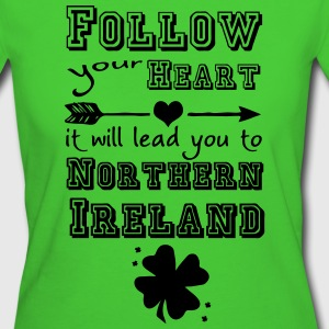 Northern Ireland Heart - Frauen Bio-T-Shirt