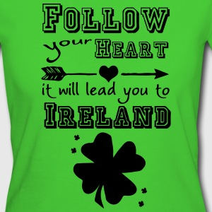 Ireland Heart - Frauen Bio-T-Shirt