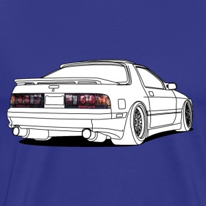 old rx7 white T-shirts - Herre premium T-shirt