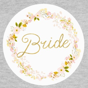 bride_big_wreath T-shirts - Vrouwen T-shirt