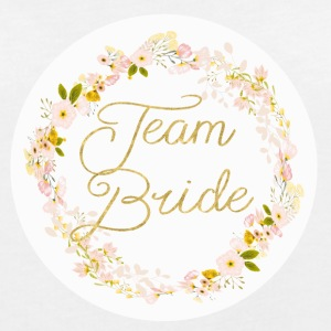team_bride_big_wreath T-shirts - Vrouwen oversize T-shirt