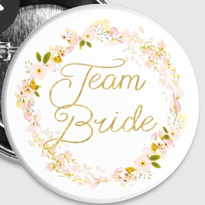 team_bride_big_wreath Buttons - Buttons small 25 mm