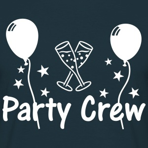 Party Crew Ballon Champagne  T-Shirts - Men's T-Shirt