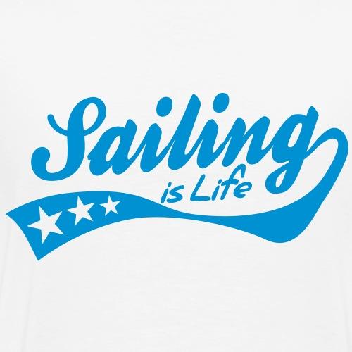 sailing is life - retro