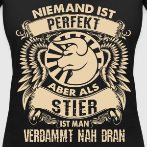 Stier - sterrenbeeld is perfect T-shirts - Vrouwen T-shirt met V-hals