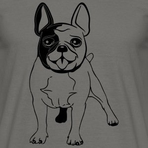 Dog Doggie Tee Shirt French Bulldogge T-Shirts - Men's T-Shirt
