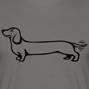 Dog dachshund T-Shirts - Men's T-Shirt