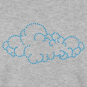 sky / cloud (dots, 1c) Sweatshirts - Herre sweater