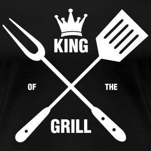King of the Grill T-Shirts - Frauen Premium T-Shirt