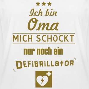 Coole Oma - Frauen Oversize T-Shirt