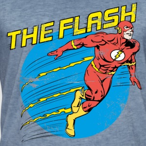DC Comics Ligue De Justice D'Amérique The Flash - T-shirt vintage Homme