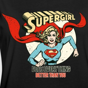 DC Comics Supergirl Better Than You - Frauen Oversize T-Shirt