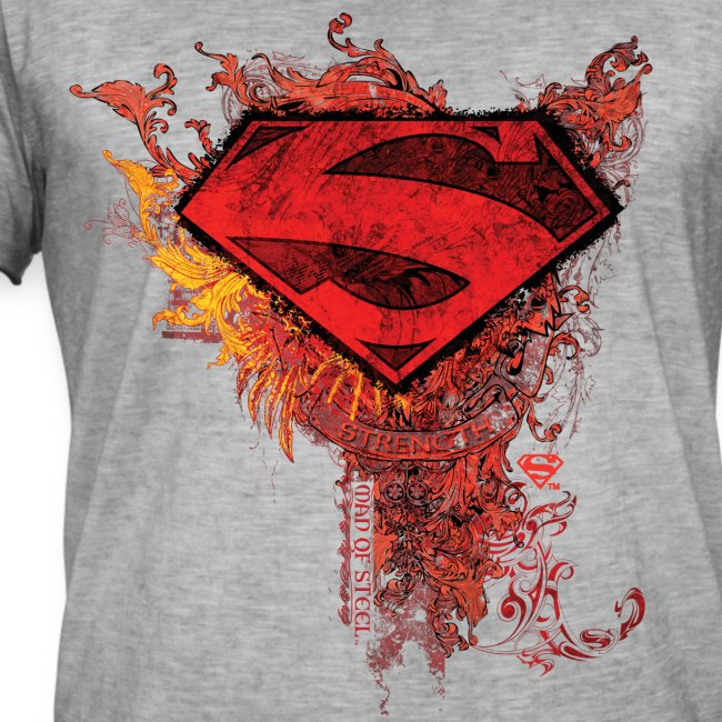 Superman Logo rot