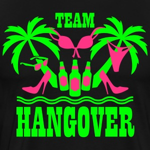20 Team Hangover Palmen Bier Beach Party T-Shirt - Männer Premium T-Shirt