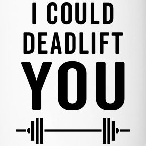 Deadlift You Gym Quote Muggar & tillbehör - Termosmugg