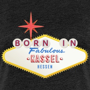 Born-in-Kassel T-Shirts - Frauen Premium T-Shirt