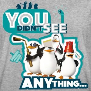 Penguins Of Madagascar Quote Didn't See - Women's Oversize T-Shirt