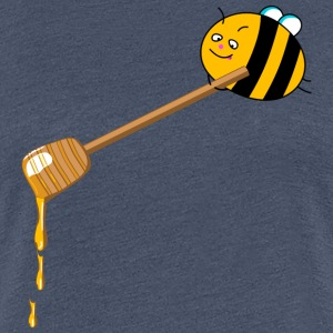 Honey bee T-shirts - Dame premium T-shirt