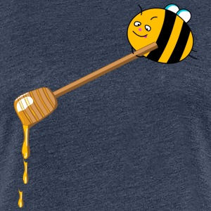 Honey bee T-skjorter - Premium T-skjorte for kvinner