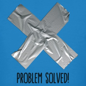 Problem Solved Duct tape T-shirts - Mannen Bio-T-shirt