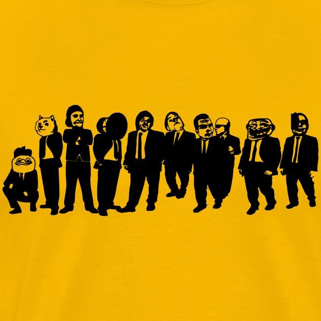 BHOF ryhmä T-paita