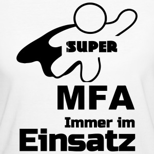 Super MFA - Frauen Bio-T-Shirt