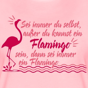 Flamingo T-Shirts - Frauen Premium T-Shirt