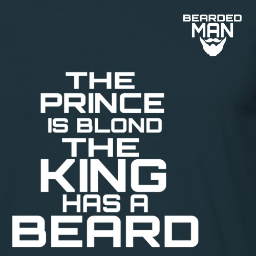 Prince king bearded man