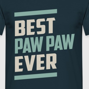 Best Paw Paw Ever - Men's T-Shirt