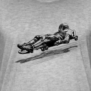 Street luge Tee shirts - T-shirt vintage Homme