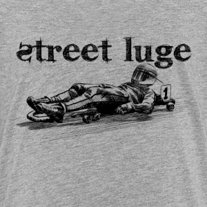 Street luge Shirts - Teenage Premium T-Shirt