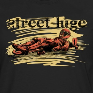 Street luge Long sleeve shirts - Men's Premium Longsleeve Shirt