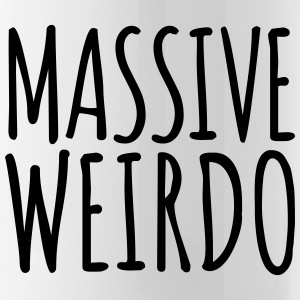 Massive Weirdo Funny Quote Mugs & Drinkware - Water Bottle