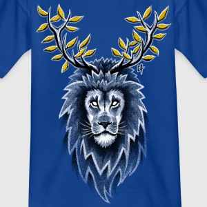 Deer Lion Shirts - Teenage T-shirt